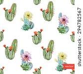 watercolor vector pattern... | Shutterstock .eps vector #294782567