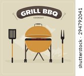 cookout grill bbq | Shutterstock .eps vector #294792041