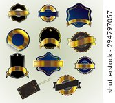 set of element for design badges | Shutterstock .eps vector #294797057