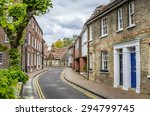 Curving Narrow Street And...