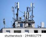 Antennas On The Top Of A...