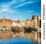 cityscape of gdansk in poland... | Shutterstock . vector #294808844