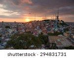 Panoramic Photo Of Las Pe    A...