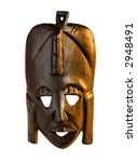 old tribal african mask | Shutterstock . vector #2948491