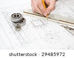drawing and various details | Shutterstock . vector #29485972