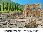 Ancient Ruins Of Celsus Librar...