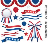 Collection Of Patriotic Emblems ...