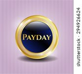 payday gold badge | Shutterstock .eps vector #294926624