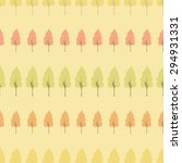 seamless tree pattern   Shutterstock .eps vector #294931331