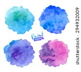 blue to purple colors vector... | Shutterstock .eps vector #294932009