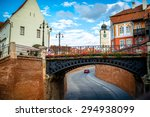 the bridge of lies in sibiu... | Shutterstock . vector #294938099