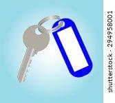 key | Shutterstock . vector #294958001