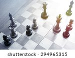 old wooden chess | Shutterstock . vector #294965315