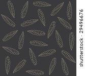 black pattern | Shutterstock .eps vector #29496676