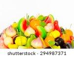 traditional thai dessert  bean... | Shutterstock . vector #294987371
