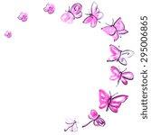 butterflies design | Shutterstock .eps vector #295006865
