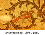 Beautifully Preserved Mosaic Of ...