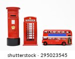 Postbox And Red Telephone Box...
