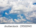 Beautiful Clouds On A Blue Sky...