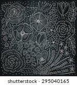 beautiful flowers pattern...