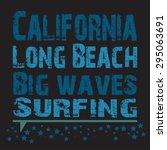 surfing  vector illustration | Shutterstock .eps vector #295063691