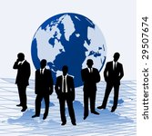 vector illustration businessmen ... | Shutterstock .eps vector #29507674