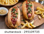 Hot Dogs With Tomato Salsa And...
