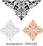 ornamental 6 | Shutterstock .eps vector #2951135