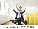 Happy Business People Having...