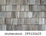 Wooden Old Retro Style Roof...