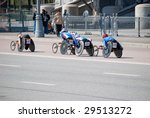 moscow   may 2  participants in ... | Shutterstock . vector #29513272