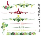 a set composed of nine various...   Shutterstock .eps vector #295141367