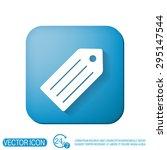 label. symbol label for... | Shutterstock .eps vector #295147544