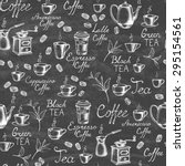 vintage style. hand drawn... | Shutterstock .eps vector #295154561