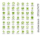 unusual icons set   isolated on ... | Shutterstock .eps vector #295167479