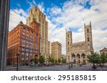 montreal  august 18   view of... | Shutterstock . vector #295185815