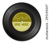 isolated vinyl record with the...   Shutterstock .eps vector #295194347