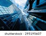 skyscrapers in commercial area  ... | Shutterstock . vector #295195607