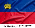 liechtenstein flag on soft and... | Shutterstock . vector #295197737