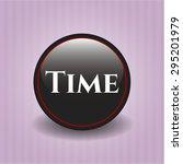 time black badge | Shutterstock .eps vector #295201979