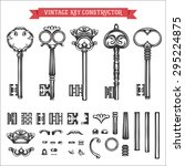 Vintage Key Constructor. Old...