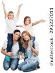 fun  latin  white. | Shutterstock . vector #295227011