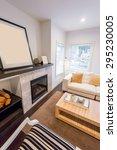 interior design of a luxury... | Shutterstock . vector #295230005
