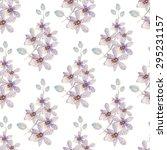 watercolor seamless pattern... | Shutterstock . vector #295231157