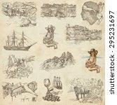 travel series  corsica  pack no.... | Shutterstock . vector #295231697