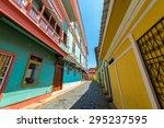 Street View In Historic Las...