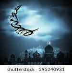 eid mubarak   Shutterstock .eps vector #295240931