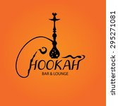 hookah bar menu cover  nargila... | Shutterstock .eps vector #295271081