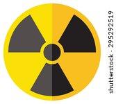 radioactive sign | Shutterstock .eps vector #295292519