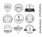 set of different logo templates ... | Shutterstock .eps vector #295296941